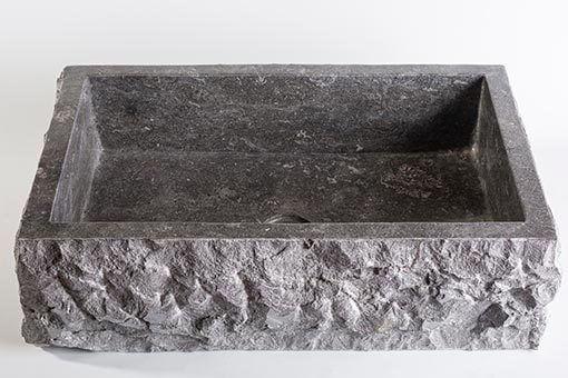 lavandino-pietra-marmo-scuro-rettangolare