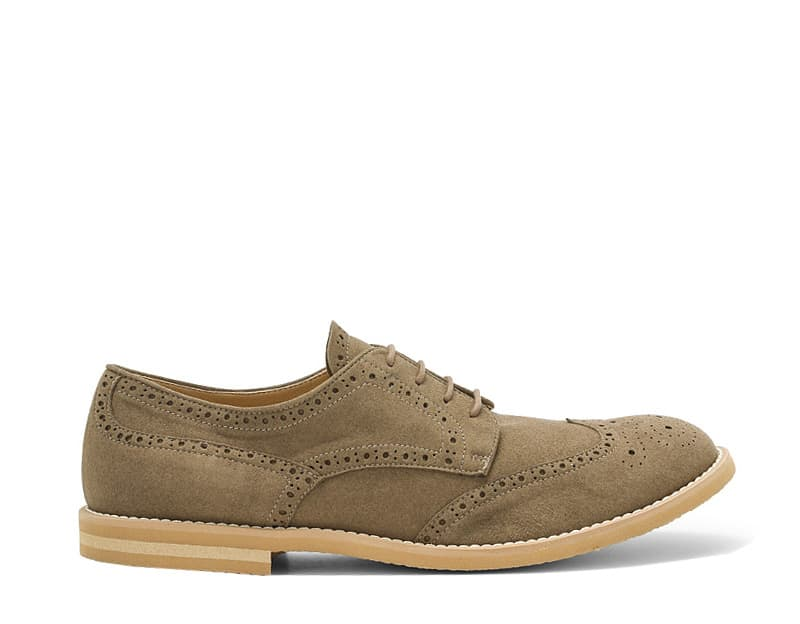 on sale 08481 274bc Scarpe Vegan da Uomo - Derby Beige Scuro