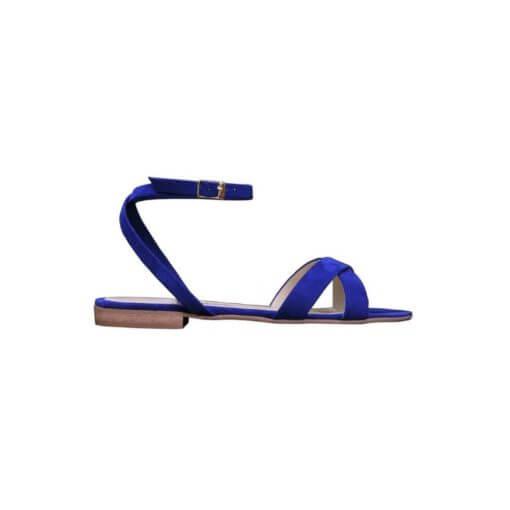sandalo basso blu