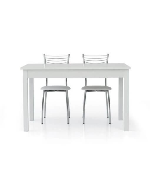 tavolo rettangolare allungabile bianco