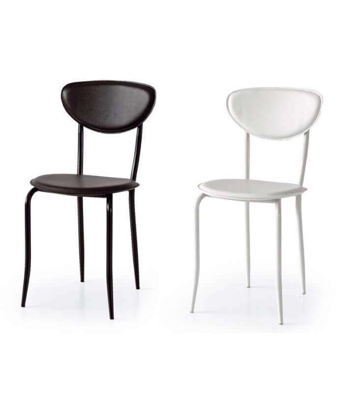 Sedie Bianche In Offerta.Sedie In Ecopelle E Metallo In Offerta Spazio Casa Sendero Deals