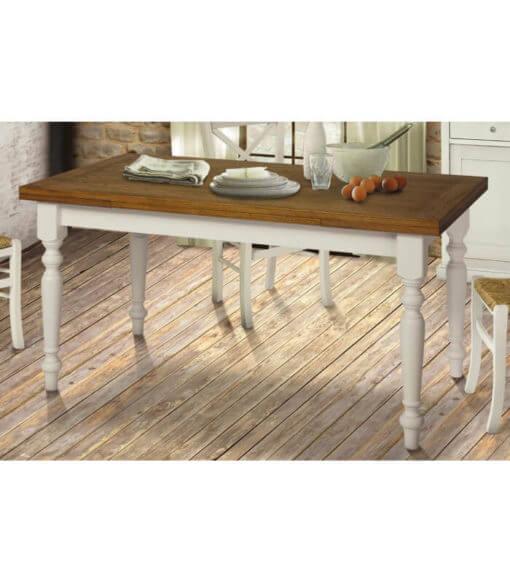 tavolo rettangolare allungabile provenzale