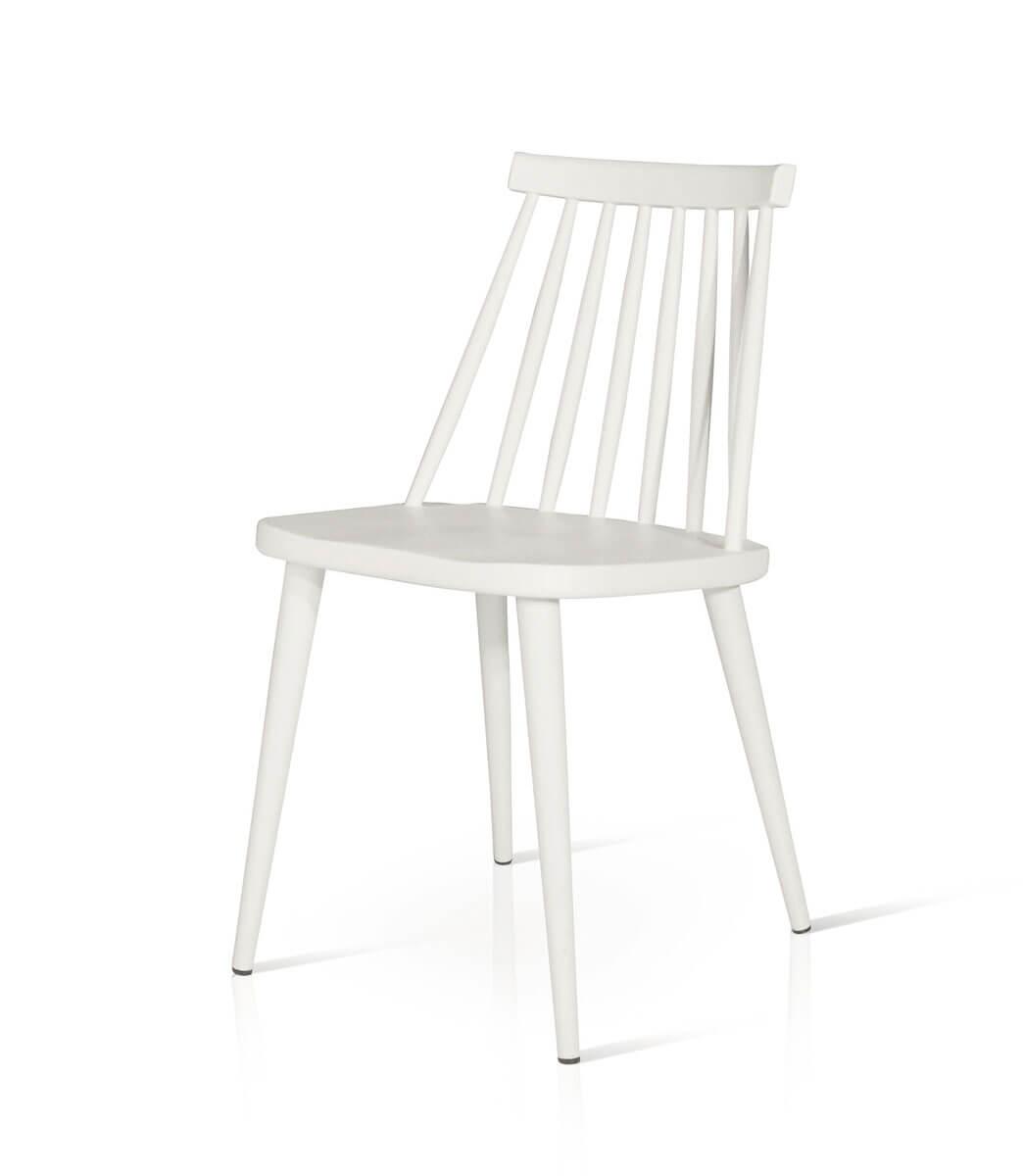 Sedie Moderne In Plastica.Sedie In Plastica Design Pvc E Metallo Bianche O Nere Offerta