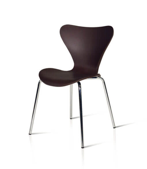 sedia in plastica PVC nera