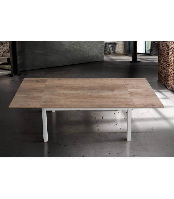 Tavolo rettangolare allungabile in legno naturale - varie misure - Spazio  Casa