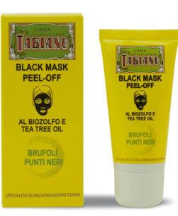 maschera nera peel-off