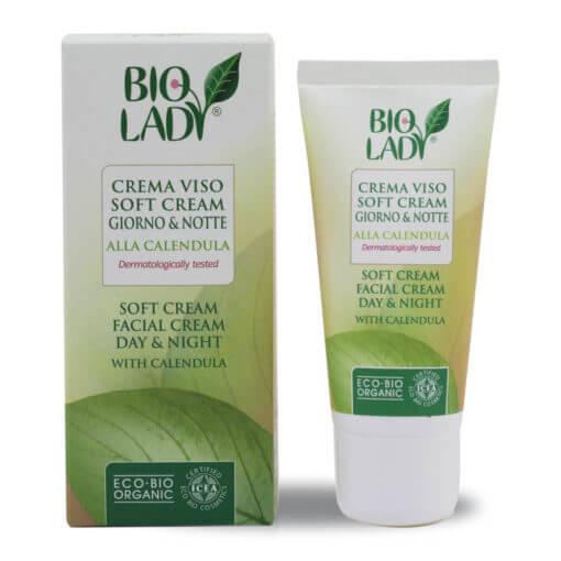 crema viso soft calendula