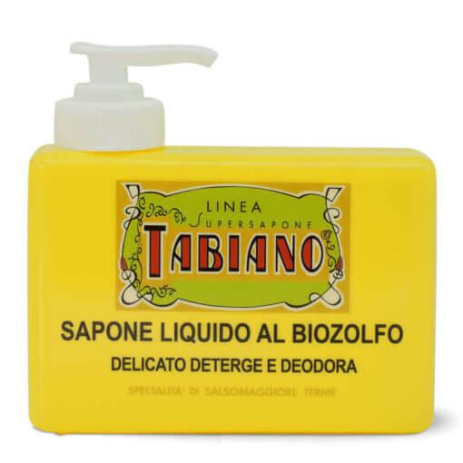 sapone liquido al biozolfo