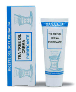 tea tree oil crema purificante