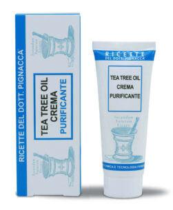 tea tree oil crema purificante