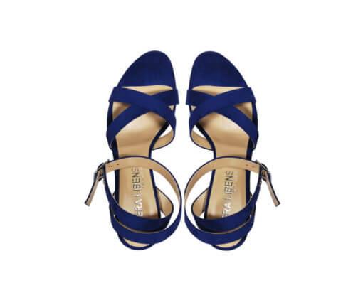 Sandali blu donna