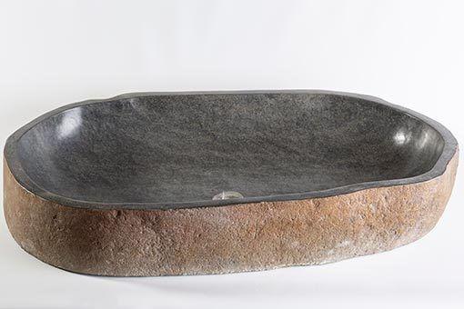 lavandino in pietra naturale