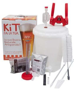 Kit birra con accessori LUX