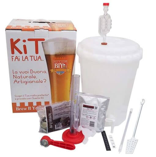 Kit birra con accessori Base