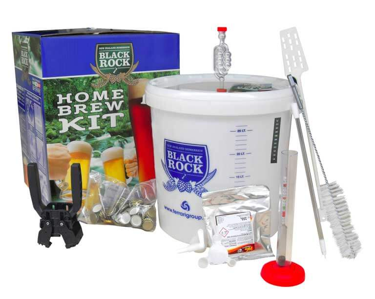 Image of Kit per Birra - Homebrew Kit Base - 23 lt - Black Rock