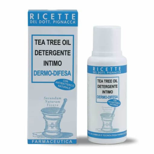 Tea tree oil detergente intimo