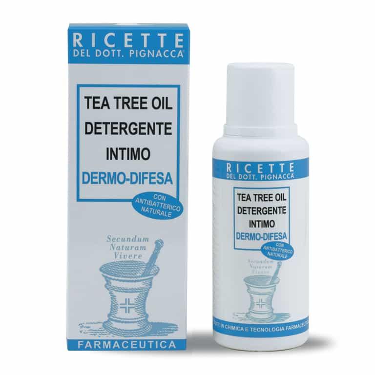 Tea Tree Oil Detergente Intimo Dermo - Difesa 250 ml - Ricette Dott. Pignacca
