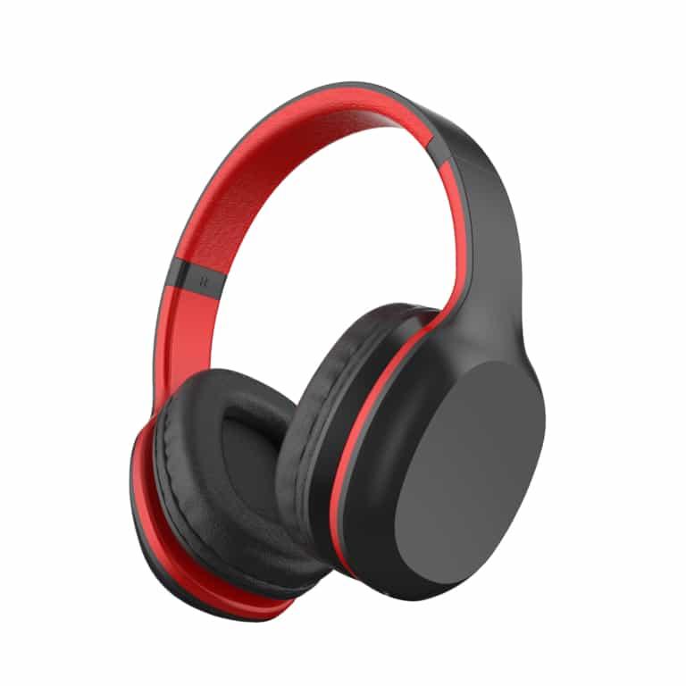 Bluetooth Stereo Xtra Bass Headphone TX-2506 - Rosso/Nero o Azzurro/Grigio Azzurro e Grigio