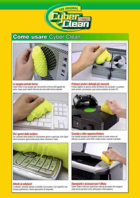come usare cyber clean