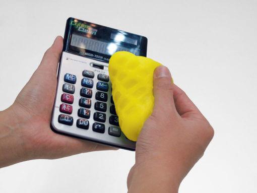 pulire calcolatrice con cyberclean