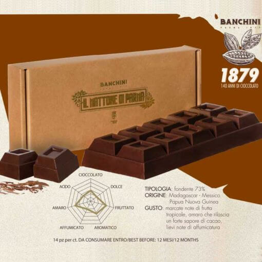 Cioccolato artigianale fondente da 1 kg