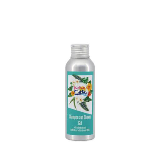 shampoo doccia con estratti naturali