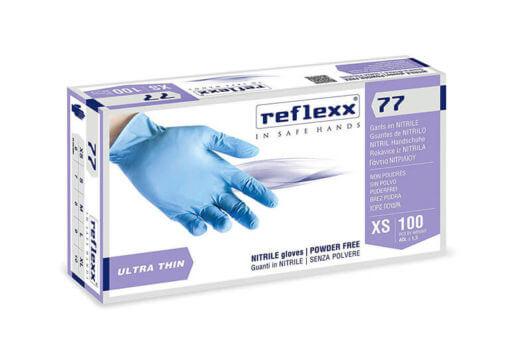 Pack da 100pz guanti Reflexx 77