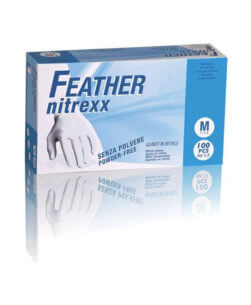 guanti in nitrile Feather Nitrexx