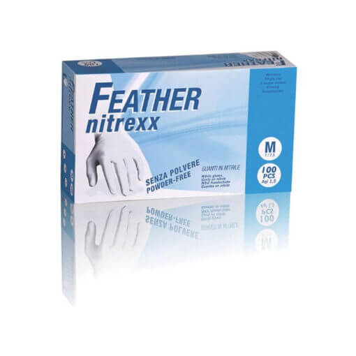 guanti in nitrile Feather Nitrexx