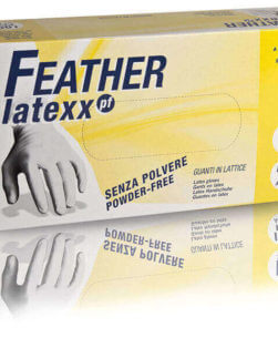 Guanti in lattice Feather Latexx