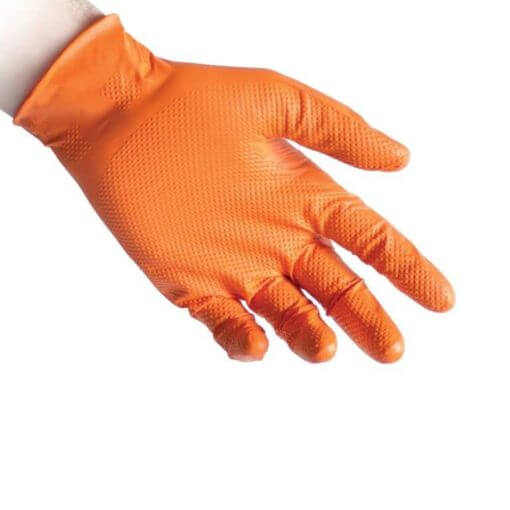 guanto in nitrile N85Orange