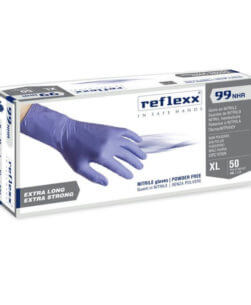 guanti in nitrile reflexx99