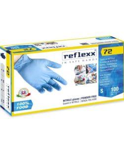 guanti in nitrile reflexx72FH