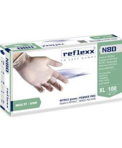 Guanti in nitrile reflexxN80