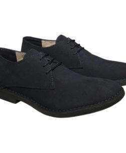 scarpe uomo stringate blu