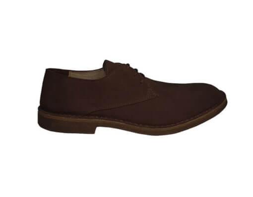 scarpa stringata da uomo caffè
