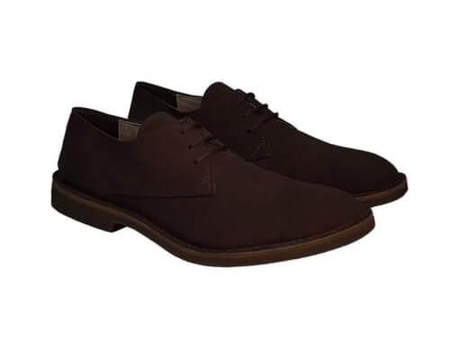 scarpe vegan uomo color caffè