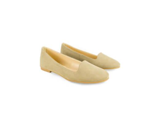 Ballerine loafer beige