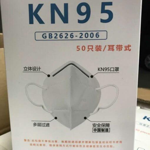 mascherina monouso KN95