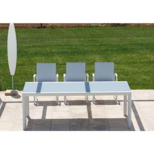 set sedie e tavolo da esterno