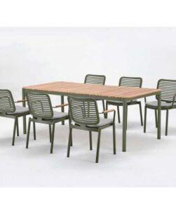 Set tavolo e sedie Balooba