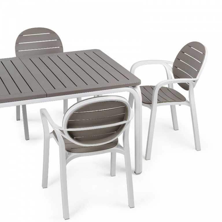 Immagini Tavoli Da Giardino.Set Da Giardino Tavolo Allungabile Alloro E 6 Sedie In Alluminio Palma Sendero Deals