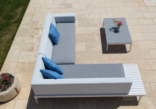 Salotto esterno divani