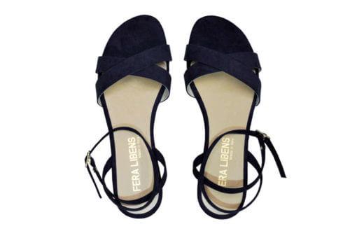 sandali blu scuro Fera Libens