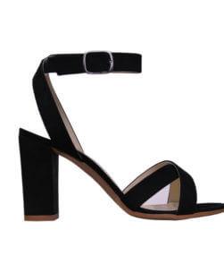 Sandalo alto nero