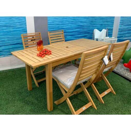 Set tavolo da giardino Nanchino 168
