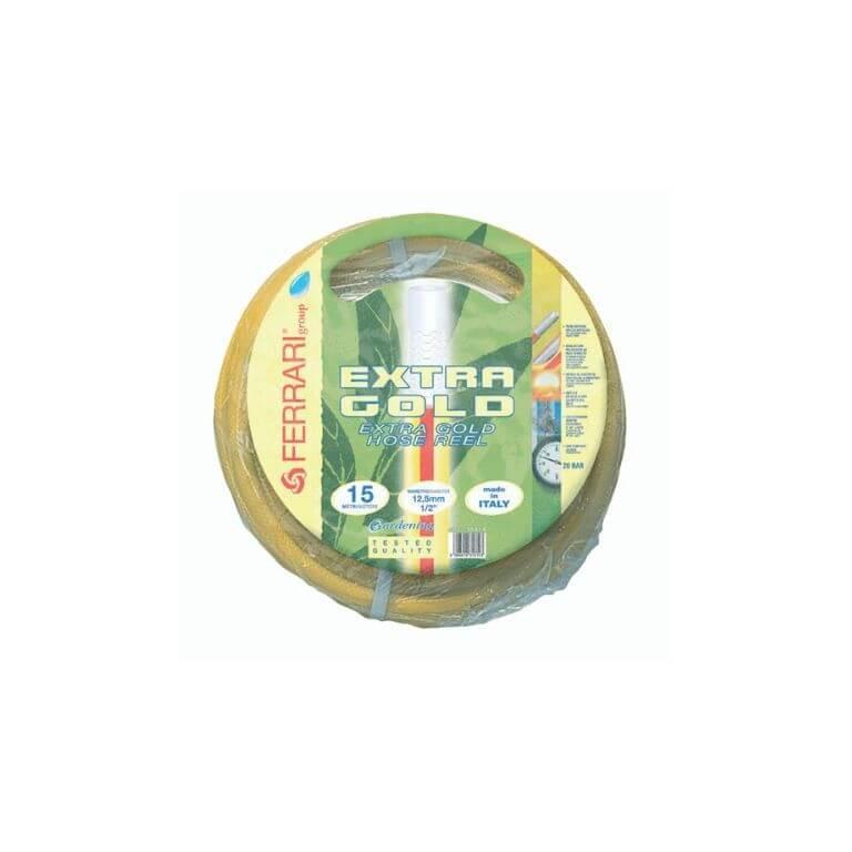 Tubo Retinato Irrigazione Giardino Extra Gold Ø 1 - Ferrari Gardening 50 m