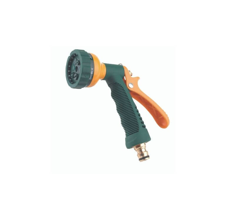 Pistola Giardino Multi 6 in metallo ricoperto in PVC - 81400 - Ferrari Gardening