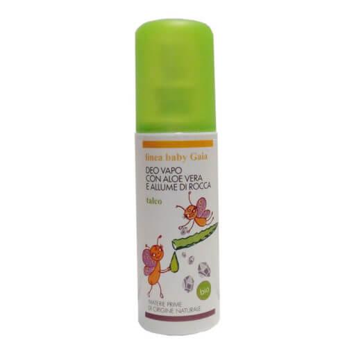 deodorante bio per bambini talco
