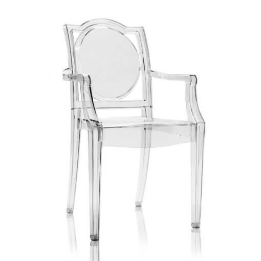 sedia Ghost trasparente